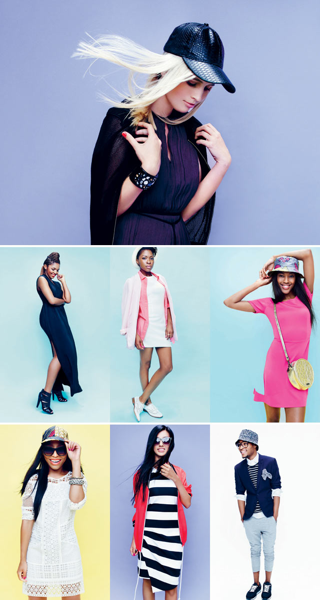 Woolworths Style By SA stars on shoot for the latest campaign